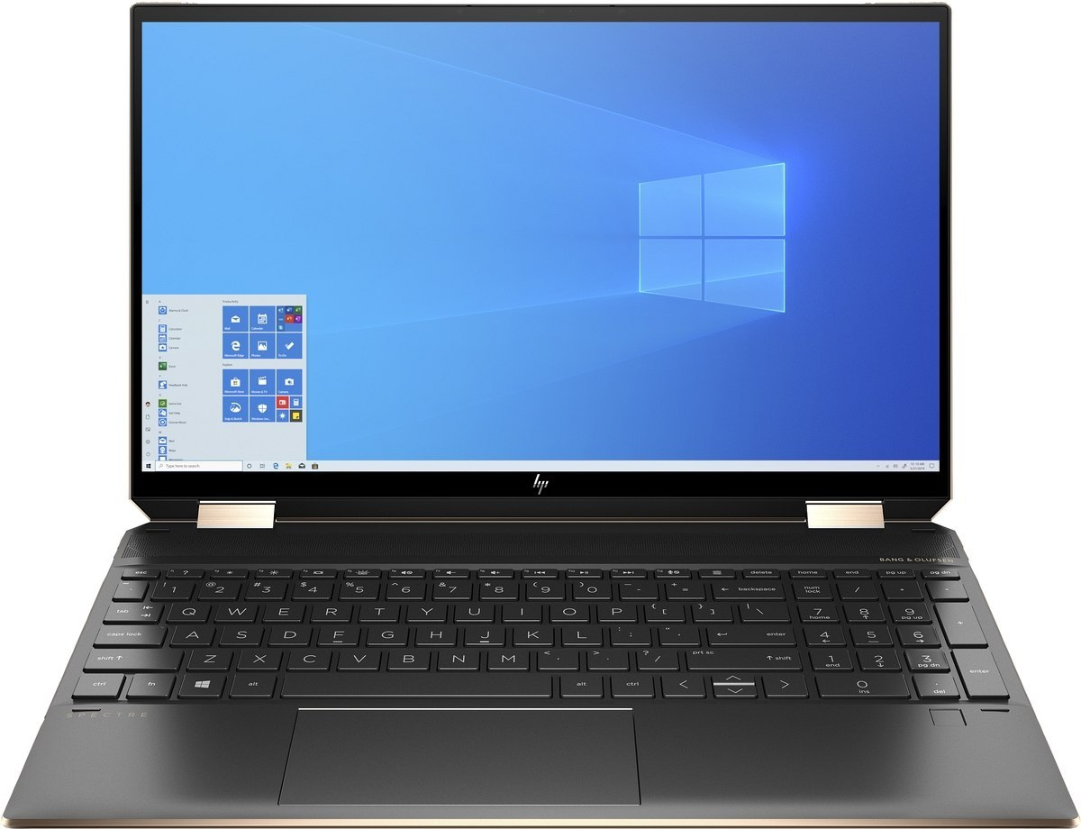 2w1 HP Spectre 15 x360 UltraHD 4K IPS Intel Core i7-10750H 16GB DDR4 512GB SSD NVMe NVIDIA GeForce GTX 1650 Ti 4GB Win10 Pro Pen