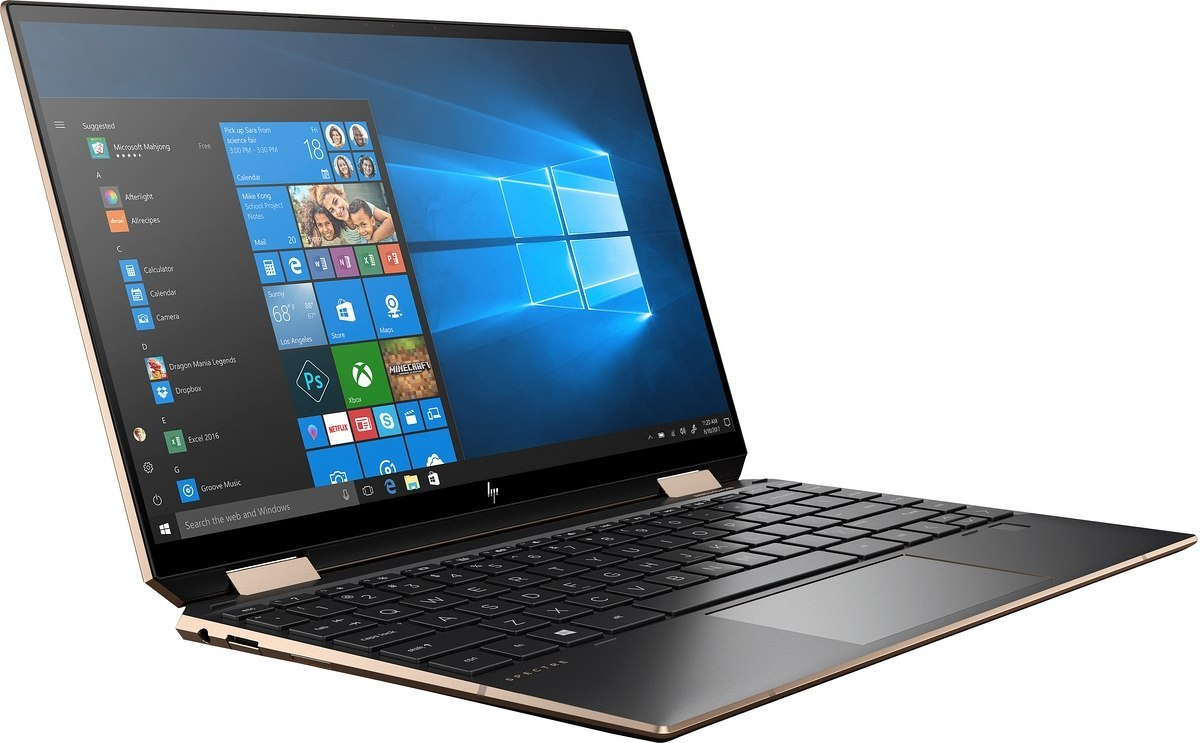 2w1 HP Spectre 13-aw x360 FullHD IPS Intel Core i5-1035G4 Quad 8GB LPDDR4 1TB SSD NVMe +32GB Optane Windows 10 Active Pen