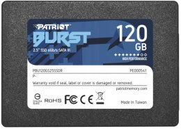 "Dysk SSD Patriot Burst 120GB SATA 2.5"" PBU120GS25SSDR"