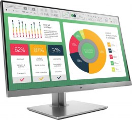 Monitor HP EliteDisplay E223 FullHD 21.5 cale IPS 1920x1080 HDMI DisplayPort VGA pivot VESA 1FH45AT