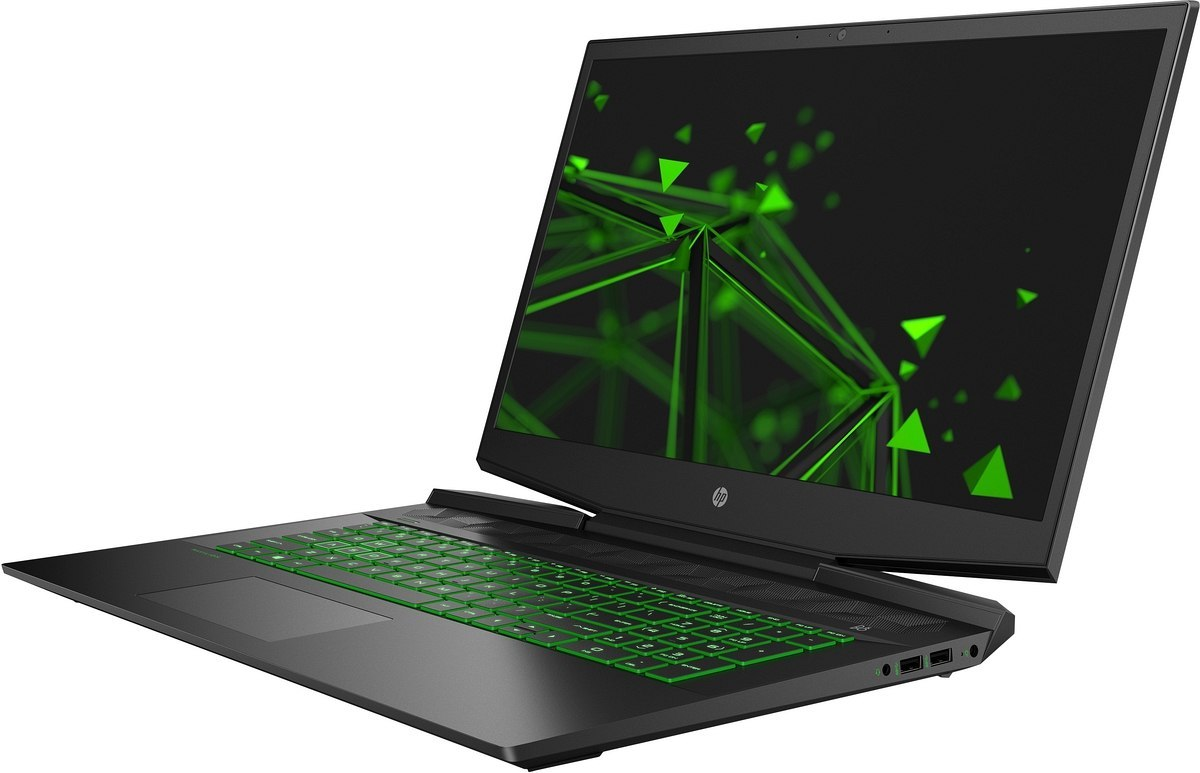 HP Pavilion Gaming 17 FullHD IPS Intel Core i5-10300H Quad 8GB DDR4 512GB SSD NVMe NVIDIA GeForce GTX 1650 Ti 4GB