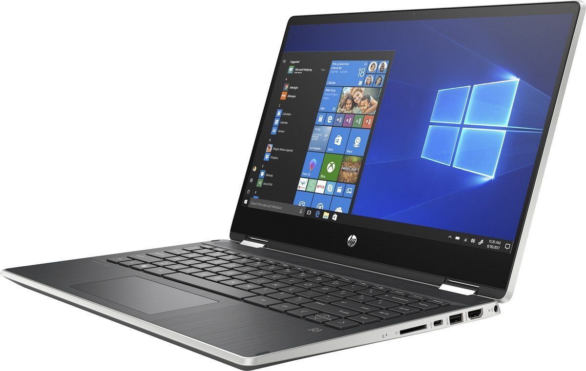 Dotykowy 2w1 HP Pavilion 14 x360 FullHD IPS Intel Core i7-10510U 16GB DDR4 512GB SSD NVMe NVIDIA GeForce MX250 2GB Win10 Pen