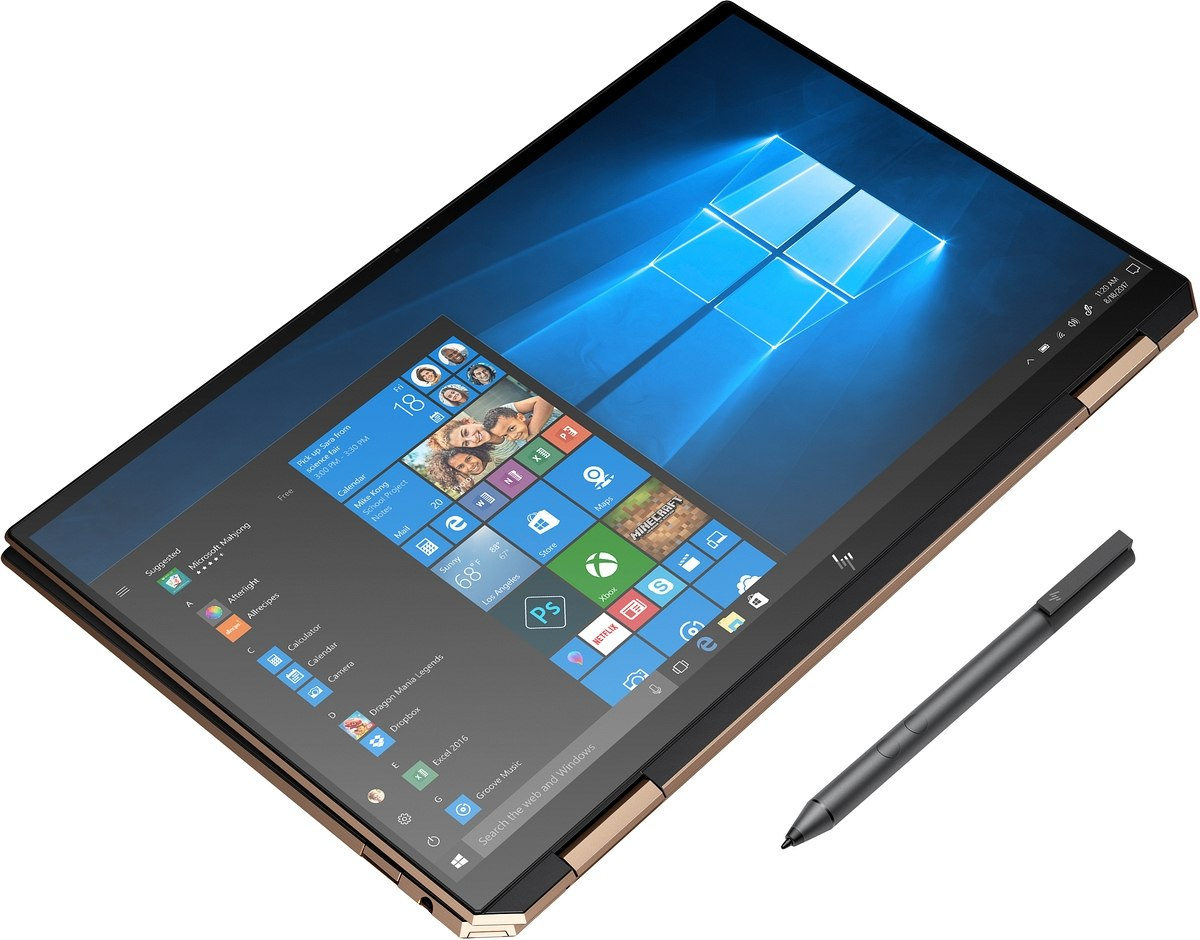 2w1 HP Spectre 13-aw x360 FullHD IPS Intel Core i5-1035G4 Quad 8GB LPDDR4 512GB SSD NVMe Windows 10 Active Pen