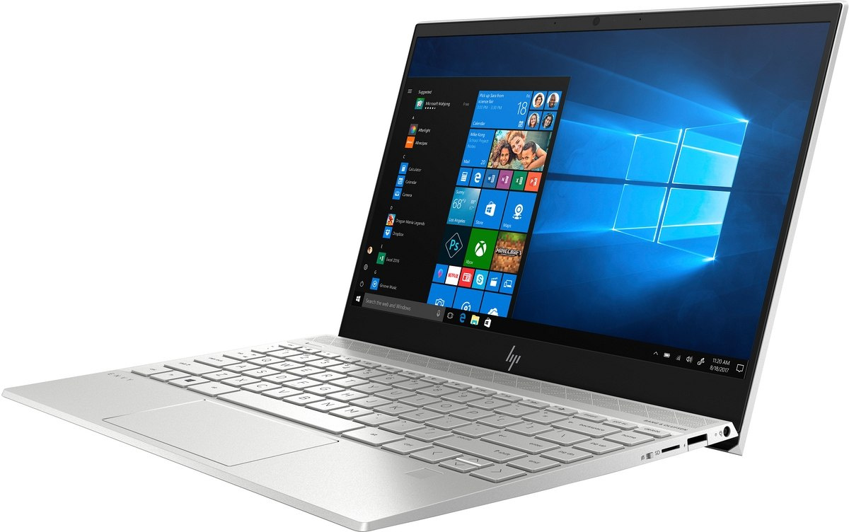 HP ENVY 13 FullHD IPS Intel Core i7-10510U Quad 16GB DDR4 512GB SSD NVMe NVIDIA GeForce MX250 2GB Windows 10