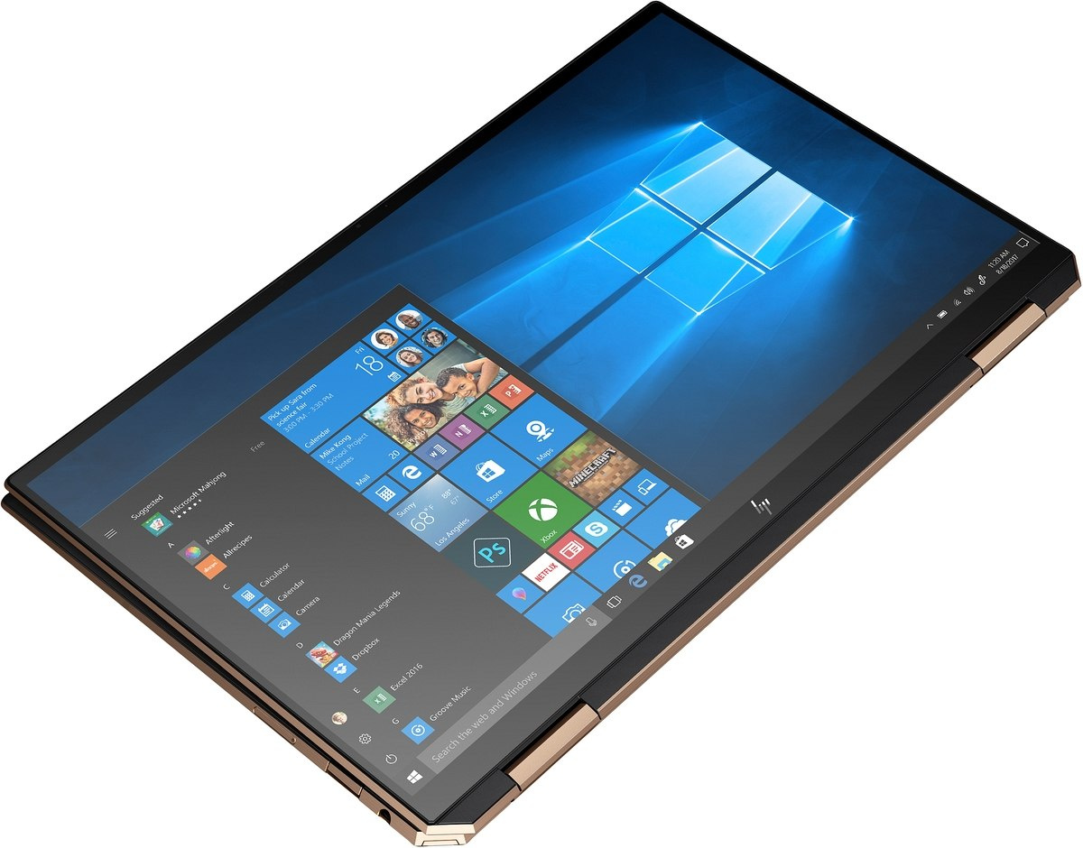 2w1 HP Spectre 13-aw x360 FullHD IPS Intel Core i7-1065G7 Quad 16GB LPDDR4 2TB SSD NVMe Windows 10 - OUTLET