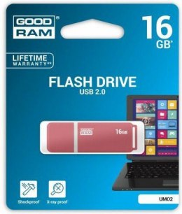 Pendrive GoodRam UMO2 16GB USB 2.0 (UMO2-0160O0R11)