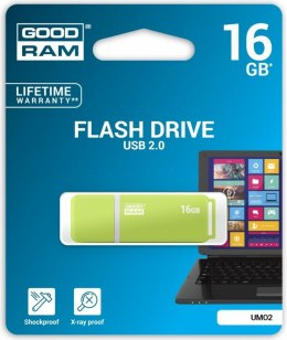 Pendrive GoodRam UMO2 16GB USB 2.0 (UMO2-0160G0R11)