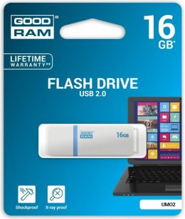 Pendrive GoodRam UMO2 16GB USB 2.0 (UMO2-0160W0R11)