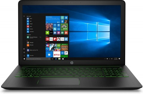 HP Pavilion Power 15 Intel Core i7-7700HQ 16GB DDR4 256GB SSD +1TB HDD NVIDIA GeForce GTX 1050 4GB Windows 10