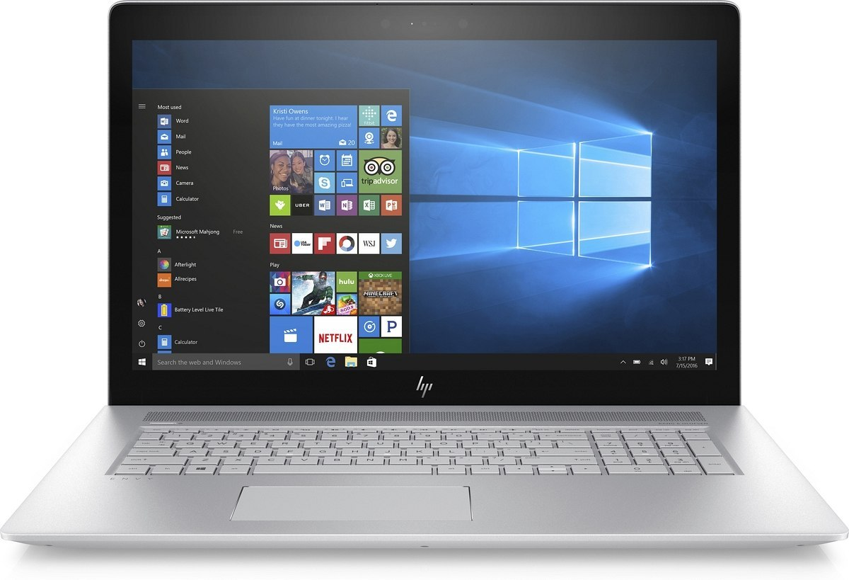 HP ENVY 17 FullHD IPS Intel Core i7-8550U 16GB DDR4 512GB SSD NVMe NVIDIA GeForce MX150 4GB Windows 10