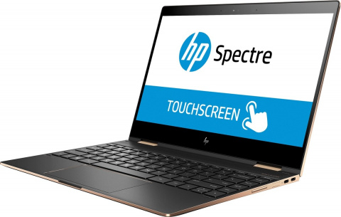 2w1 HP Spectre 13 x360 Intel Core i7-8550U QUAD 16GB RAM 512GB SSD NVMe Windows 10