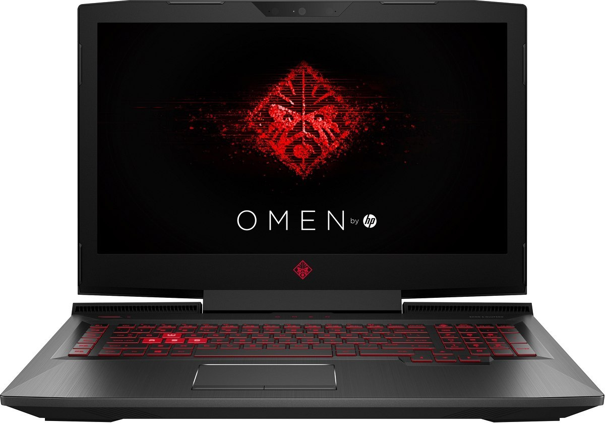 HP OMEN 17 FullHD IPS Intel Core i7-7700HQ QUAD 16GB DDR4 256GB SSD NVMe +1TB HDD NVIDIA GeForce GTX 1050Ti 4GB Windows 10