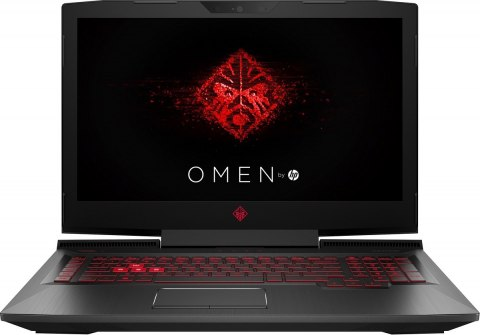 HP OMEN 17 FullHD IPS Intel Core i7-7700HQ 16GB DDR4 256GB SSD NVMe +2TB HDD NVIDIA GeForce GTX 1050Ti 4GB Windows 10