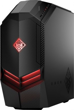 HP OMEN 880-109no PC Intel Core i7-8700K 6-rdzeni 32GB DDR4 512GB SSD NVMe +2TB HDD NVIDIA GeForce GTX 1080Ti 11GB Windows 10