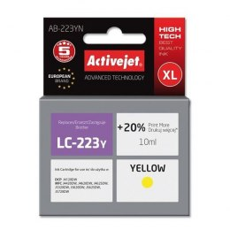 Activejet tusz AB-223YN Supreme / LC223Y (yellow)