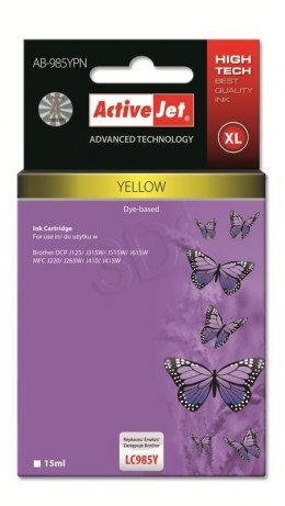 Activejet tusz AB-985MN / LC-985M (yellow)