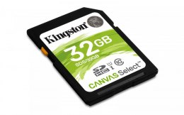 Karta pamięci Kingston 32GB Canvas Select UHS-I SDHC