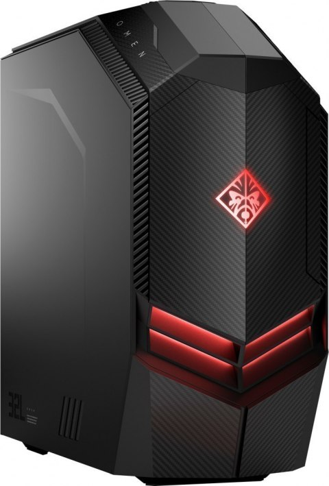HP OMEN 880-122ns PC Intel Core i7-8700K 6-rdzeni 16GB DDR4 128GB SSD NVMe +1TB HDD NVIDIA GeForce GTX 1070 8GB Windows 10