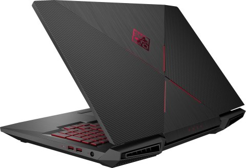 HP OMEN 17 FullHD IPS 120Hz Intel Core i7-8750H 6-rdzeni 16GB DDR4 256GB SSD NVMe +1TB HDD NVIDIA GeForce GTX 1060 6GB Windows10