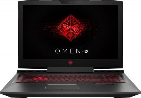 HP OMEN 17 FullHD IPS Intel Core i7-7700HQ 16GB DDR4 256GB SSD NVMe +1TB HDD NVIDIA GeForce GTX 1050 Ti 4GB Windows 10
