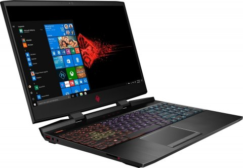 HP OMEN 15 FullHD IPS 144Hz Intel Core i7-8750H 6-rdzeni 16GB 256GB SSD NVMe +1TB HDD NVIDIA GeForce GTX 1070 8GB Windows 10