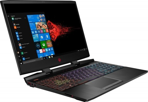 HP OMEN 15 FullHD IPS 144Hz Intel Core i7-8750H 6-rdzeni 16GB 256GB SSD NVMe 1TB HDD NVIDIA GeForce GTX 1050 Ti 4GB Windows 10