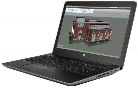 HP ZBook 15 G3 FullHD Intel Core i7-6820HQ Quad 16GB DDR4 512GB SSD NVMe NVIDIA Quadro M1000M 2GB VRAM Windows 10 Pro
