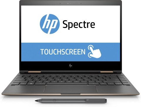 2w1 HP Spectre 13 x360 UltraHD 4K IPS Intel Core i7-8550U Quad 16GB RAM 1TB SSD NVMe Windows 10 Active Pen
