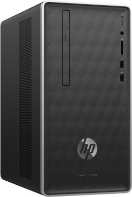 HP Pavilion 590 PC Intel Core i7-8700 6-rdzeni 16GB DDR4 256GB SSD NVMe +1TB HDD NVIDIA GeForce GTX 1050 Ti 4GB Windows 10
