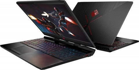 HP OMEN 15 FullHD IPS 144Hz Intel Core i7-8750H 6-rdzeni 16GB 256GB SSD NVMe 1TB HDD NVIDIA GeForce GTX 1070 8GB Windows 10