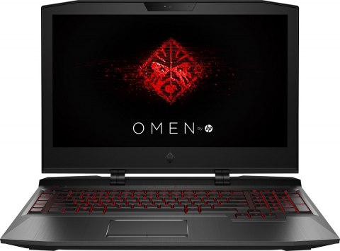 HP OMEN X 17 FullHD IPS 120Hz Intel Core i7-7820HK 16GB DDR4 256GB SSD NVMe 1TB HDD NVIDIA GeForce GTX 1070 8GB VRAM Windows 10