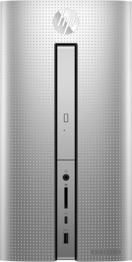 HP Pavilion Desktop PC 570 Intel Core i3-7100 Dual Core 8GB DDR4 1TB HDD Windows 10 +klawiatura i mysz