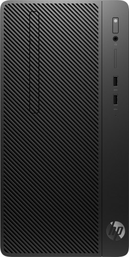 HP 285 G3 Microtower PC AMD Ryzen 3 2200G Quad 8GB DDR4 256GB SSD NVMe Radeon Vega 8 Windows 10 Pro