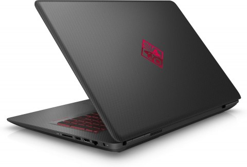 HP OMEN 17 FullHD IPS Intel Core i7-7700HQ 16GB DDR4 128GB SSD 1TB HDD NVIDIA GeForce GTX 1050 4GB