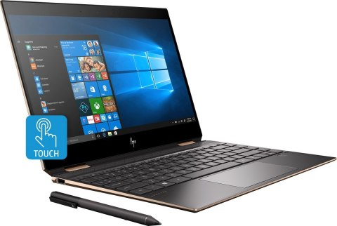 2w1 HP Spectre 13 x360 FullHD IPS Sure View 120Hz Intel Core i7-8565U Quad 16GB DDR4 512GB SSD NVMe Windows 10 Active Pen