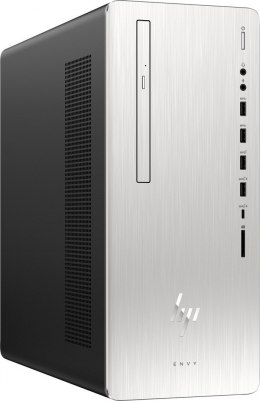 HP ENVY 795 PC Intel Core i7-8700 6-rdzeni 16GB DDR4 256GB SSD NVMe 1TB HDD NVIDIA GeForce GTX 1070 8GB Win10 +klawiatura i mysz