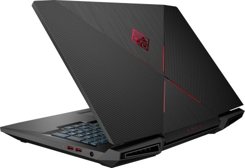 HP OMEN 17 FullHD IPS Intel Core i7-8750H 6-rdzeni 16GB DDR4 256GB SSD NVMe 1TB HDD NVIDIA GeForce GTX 1050 Ti 4GB Windows 10