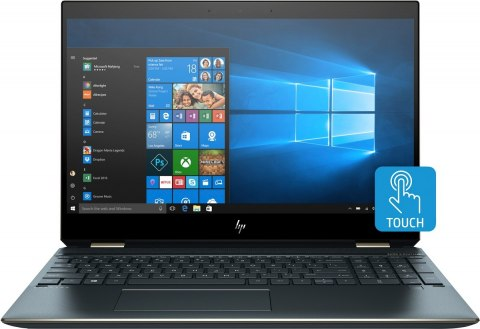 2w1 HP Spectre 15 x360 UltraHD 4K IPS Intel Core i7-8750H 16GB DDR4 512GB SSD PCIe NVMe NVIDIA GeForce GTX 1050 Ti 4GB Win10
