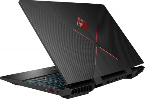 HP OMEN 15 FullHD IPS 144Hz Intel Core i7-8750H 6-rdzeni 16GB DDR4 256GB SSD NVMe 1TB HDD NVIDIA GeForce RTX 2060 6GB Windows 10