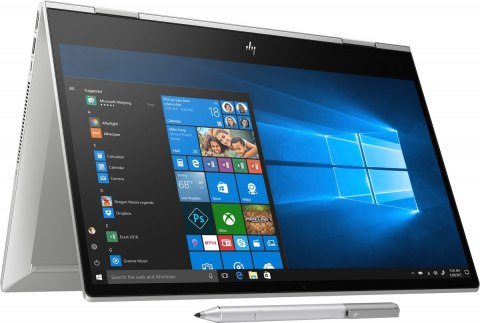 2w1 HP ENVY 15 x360 UltraHD 4K AMOLED Intel Core i7-8565U 16GB 512GB SSD NVMe NVIDIA GeForce MX250 4GB Windows 10 Active Pen