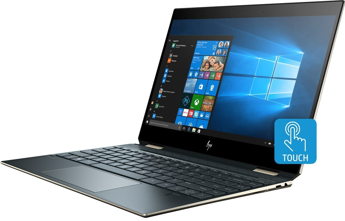 2w1 HP Spectre 13 x360 FullHD IPS Intel Core i7-8565U Quad 16GB DDR4 512GB SSD NVMe Windows 10