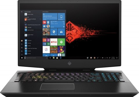 HP OMEN 17 FullHD IPS 144Hz Intel Core i7-9750H 6-rdzeni 16GB DDR4 512GB SSD NVMe 1TB HDD NVIDIA GeForce RTX 2060 6GB Windows 10
