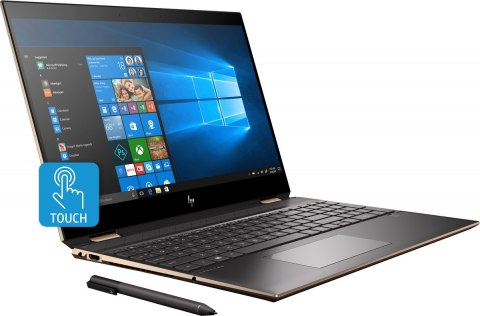 2w1 HP Spectre 15 x360 UltraHD 4K IPS Intel Core i7-8750H 16GB DDR4 512GB SSD PCIe NVMe NVIDIA GeForce GTX 1050 Ti 4GB Win10 Pen