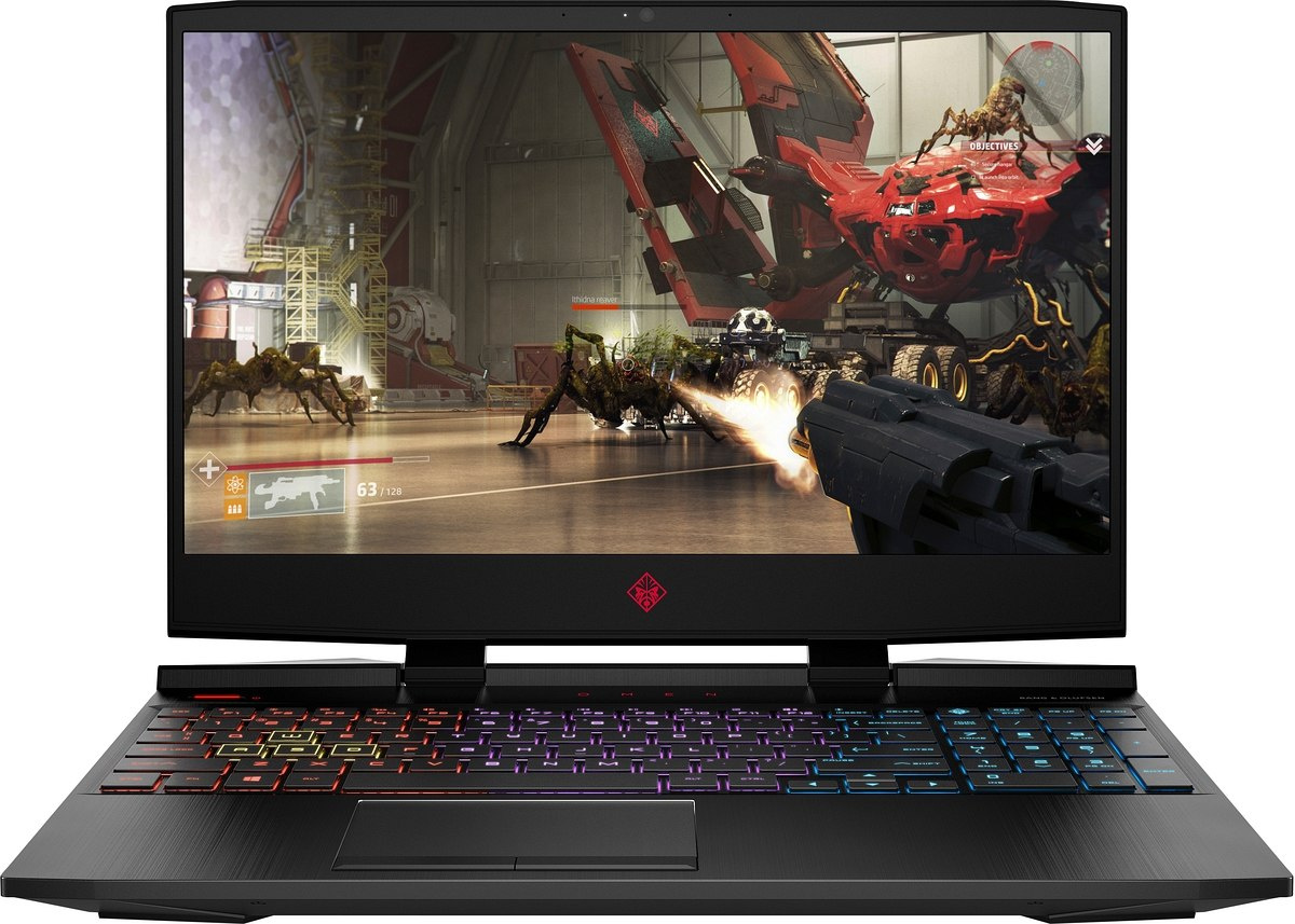 HP OMEN 15 FullHD IPS Intel Core i7-9750H 6-rdzeni 8GB 256GB SSD NVMe 1TB HDD NVIDIA GeForce GTX 1660 Ti 6GB Windows 10