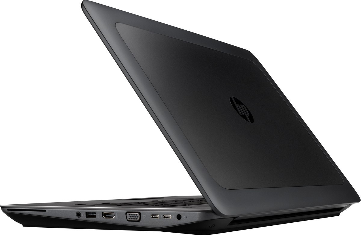 HP ZBook 17 G4 FullHD IPS Intel Core i7-7700HQ 8GB DDR4 256GB SSD NVMe NVIDIA Quadro M2200 4GB VRAM Windows 10 Pro