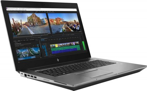HP ZBook 17 G5 FullHD IPS Intel Core i7-8850H 6-rdzeni 16GB DDR4 512GB SSD NVMe NVIDIA Quadro P2000 4GB VRAM Windows 10 Pro