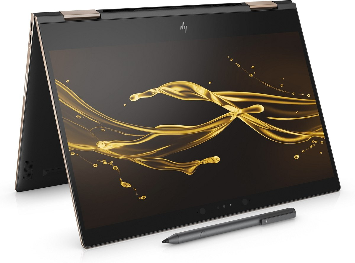 2w1 HP Spectre 13 x360 UltraHD 4K IPS Intel Core i7-8550U Quad 16GB RAM 512GB SSD NVMe Windows 10 Active Pen