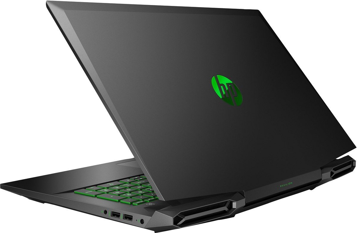 HP Pavilion Gaming 17 FullHD IPS Intel Core i7-9750H 6-rdzeni 8GB 256GB SSD NVMe 1TB HDD NVIDIA GeForce GTX 1650 4GB