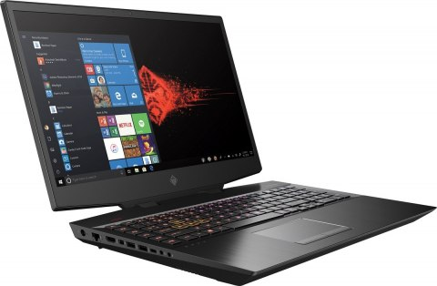 HP OMEN 17 FullHD IPS 144Hz Intel Core i7-9750H 6-rdzeni 16GB DDR4 512GB SSD NVMe NVIDIA GeForce GTX 1660 Ti 6GB Windows 10