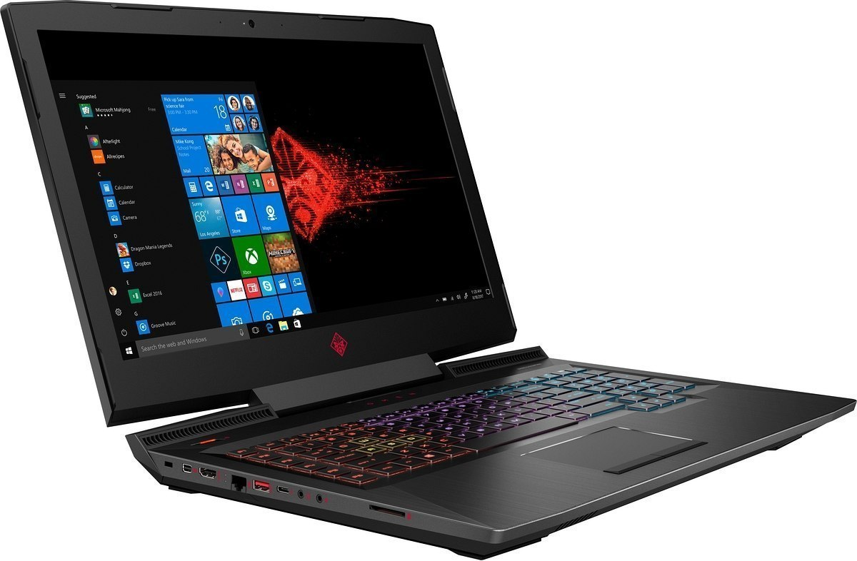 HP OMEN 17 FullHD IPS 144Hz Intel Core i7-8750H 6-rdzeni 24GB DDR4 512GB SSD NVMe NVIDIA GeForce GTX 1070 8GB Windows 10